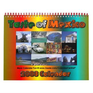 Gusto del calendario 2008 de México
