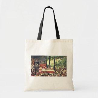 Gusto por Bruegel D. Ä. enero (la mejor calidad) Bolsas Lienzo