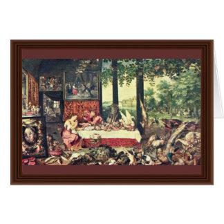 Gusto por Bruegel D. Ä. enero Tarjetón