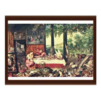 Gusto por Bruegel D. Ä. enero Postales