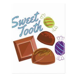 Gusto por lo dulce postal