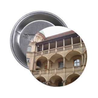 Gustrow Castle Germany Button