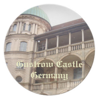 Gustrow Castle Germany Dinner Plate
