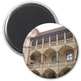 Gustrow Castle Germany Fridge Magnet