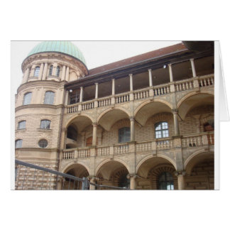 Gustrow Castle Germany Greeting Card