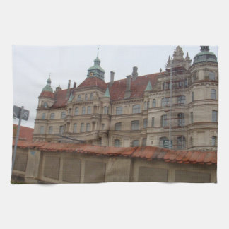 Gustrow Castle Germany Hand Towel