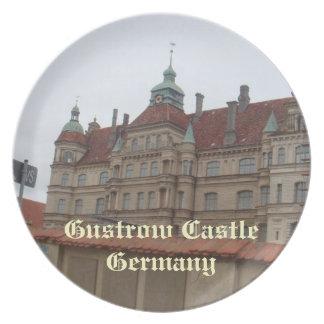 Gustrow Castle Germany Plate