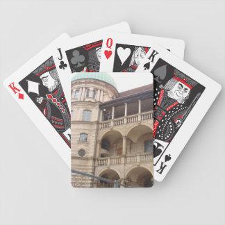 Gustrow Castle Germany Poker Deck