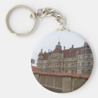 Gustrowschloss Germany Basic Round Button Keychain