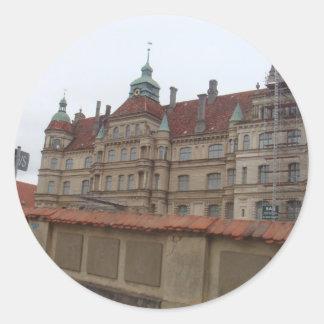 Gustrowschloss Germany Round Sticker