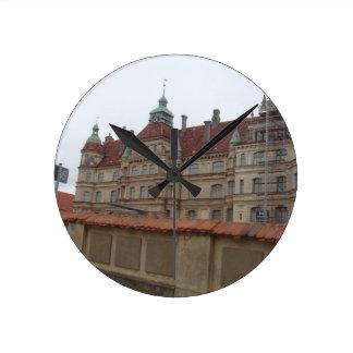 Gustrowschloss Germany Wall Clock