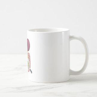 Gut Bacteria Magnifying Glass Coffee Mug