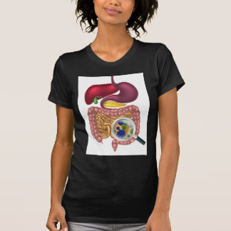 Gut Bacteria Magnifying Glass Shirt