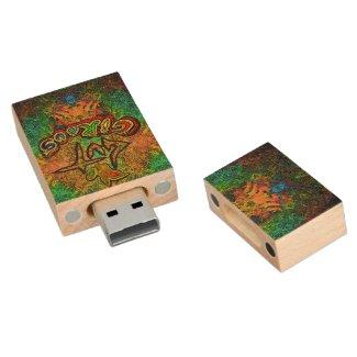 GuT Circus Kaleidoscope USB Flash Drive