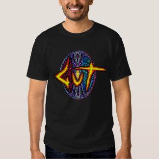 GuT Cosmic Egg Black T-Shirt