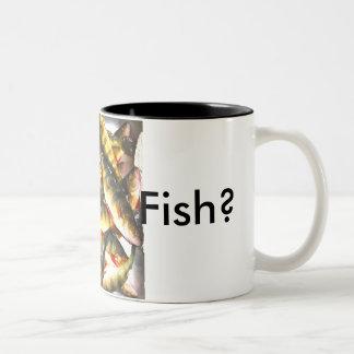 Gut Fish? Two-Tone Coffee Mug