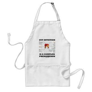 Gut Intuition Is A Complex Phenomenon (Endocrine) Adult Apron