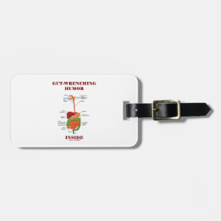 Gut-Wrenching Humor Inside (Digestive System) Travel Bag Tags