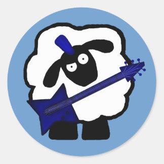 Gutarist Sheep Stickers