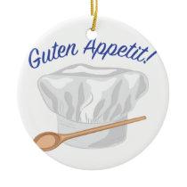 Guten Appetit Ceramic Ornament