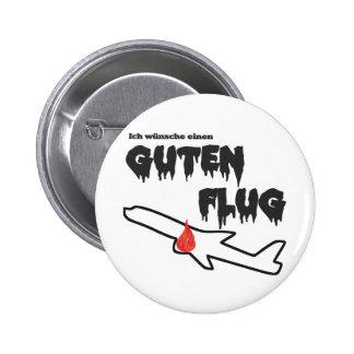 Guten Flug Anstecknadelbuttons