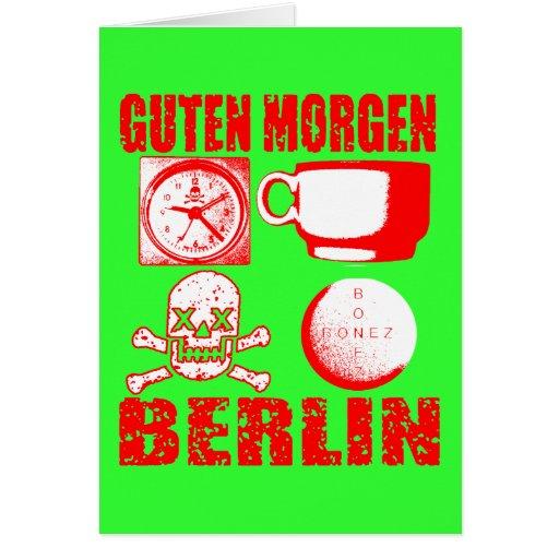 GUTEN MORGEN BERLIN CARD