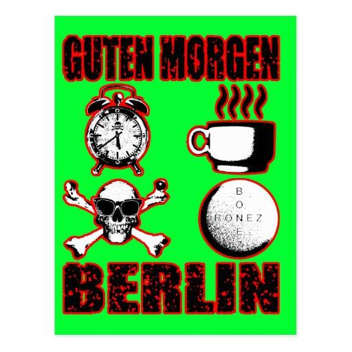 GUTEN MORGEN BERLIN II POSTCARD