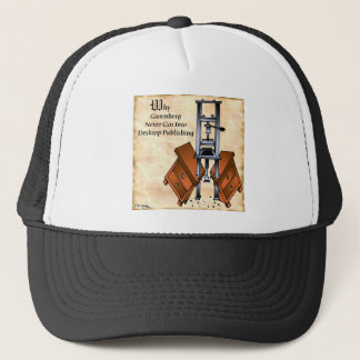 Gutenberg Cartoon 3477 Trucker Hat