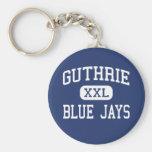 Guthrie - Blue Jays - High - Guthrie Oklahoma Keychain
