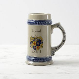 Guthrie Coat of Arms Stein / Guthrie Crest Stein Mug