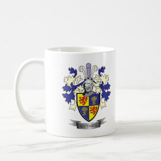 Guthrie Family Crest Coat of Arms Coffee Mug