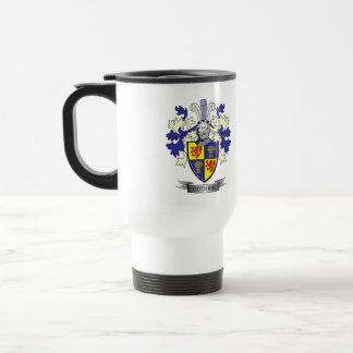 Guthrie Family Crest Coat of Arms Travel Mug