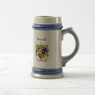 GUTHRIE FAMILY CREST -  GUTHRIE COAT OF ARMS BEER STEIN