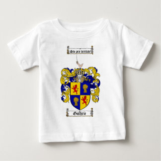 GUTHRIE FAMILY CREST -  GUTHRIE COAT OF ARMS TSHIRTS