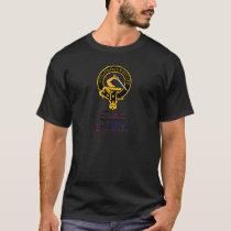 Guthrie scottish crest and tartan clan name T-Shirt
