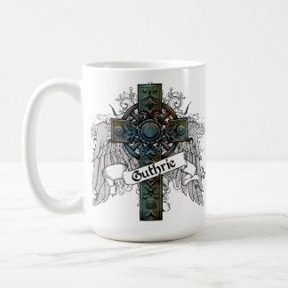 Guthrie Tartan Cross Coffee Mug