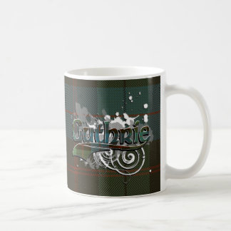 Guthrie Tartan Grunge Coffee Mugs