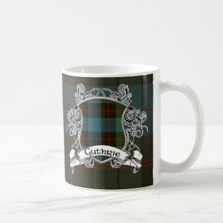 Guthrie Tartan Shield Coffee Mug