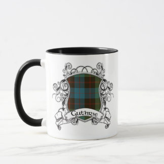 Guthrie Tartan Shield Mug