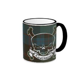 Guthrie Tartan Skull Mug