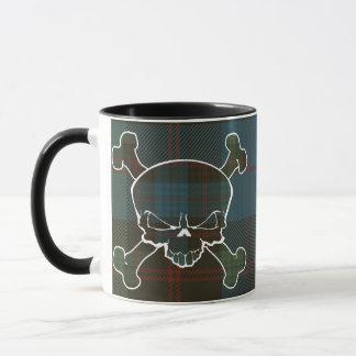 Guthrie Tartan Skull No Banner Mug