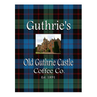 Guthrie's Old Guthrie Castle Coffee Co. Postcard