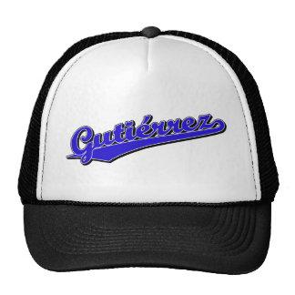 Gutiérrez  in Blue Hat