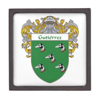 Gutierrez Coat of Arms/Family Crest Keepsake Box
