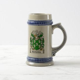 Gutierrez Coat of Arms Stein / Gutierrez Crest