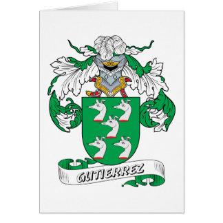 Gutierrez Family Crest Card