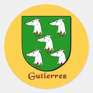 Gutierrez Family Shield Stickers