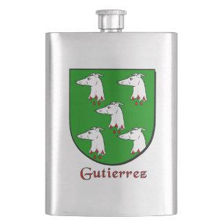 Gutierrez Heraldic Shield Flask