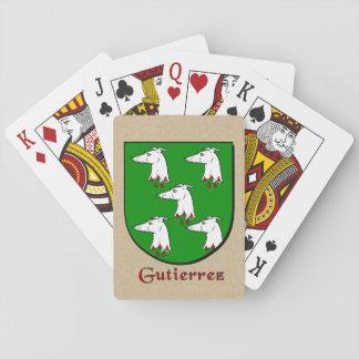 Gutierrez Heraldic Shield Playing Cards