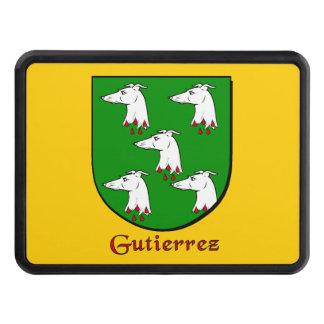 Gutierrez Heraldic Shield Tow Hitch Cover